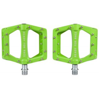CUBE RFR Pedale Flat CMPT Green